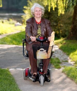 Scooter électrique Indépendance Royale