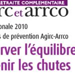 Agirc-Arrco présente le bilan de son étude sur l'équilibre et les chutes chez les personnes âgées