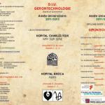 Lancement de l'année universitaire 2011-2012 du D.I.U. Gérontechnologie – Santé et Autonomie