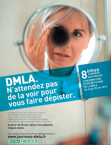 Affiche DMLA