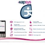 SmartVision : le smartphone Kapsys conçu pour les malvoyants et les non-voyants