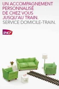 Domicile train SNCF