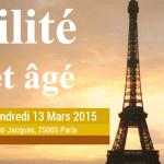 3ème Congrès Francophone Fragilité du sujet âgé les 12 et 13 mars 2015