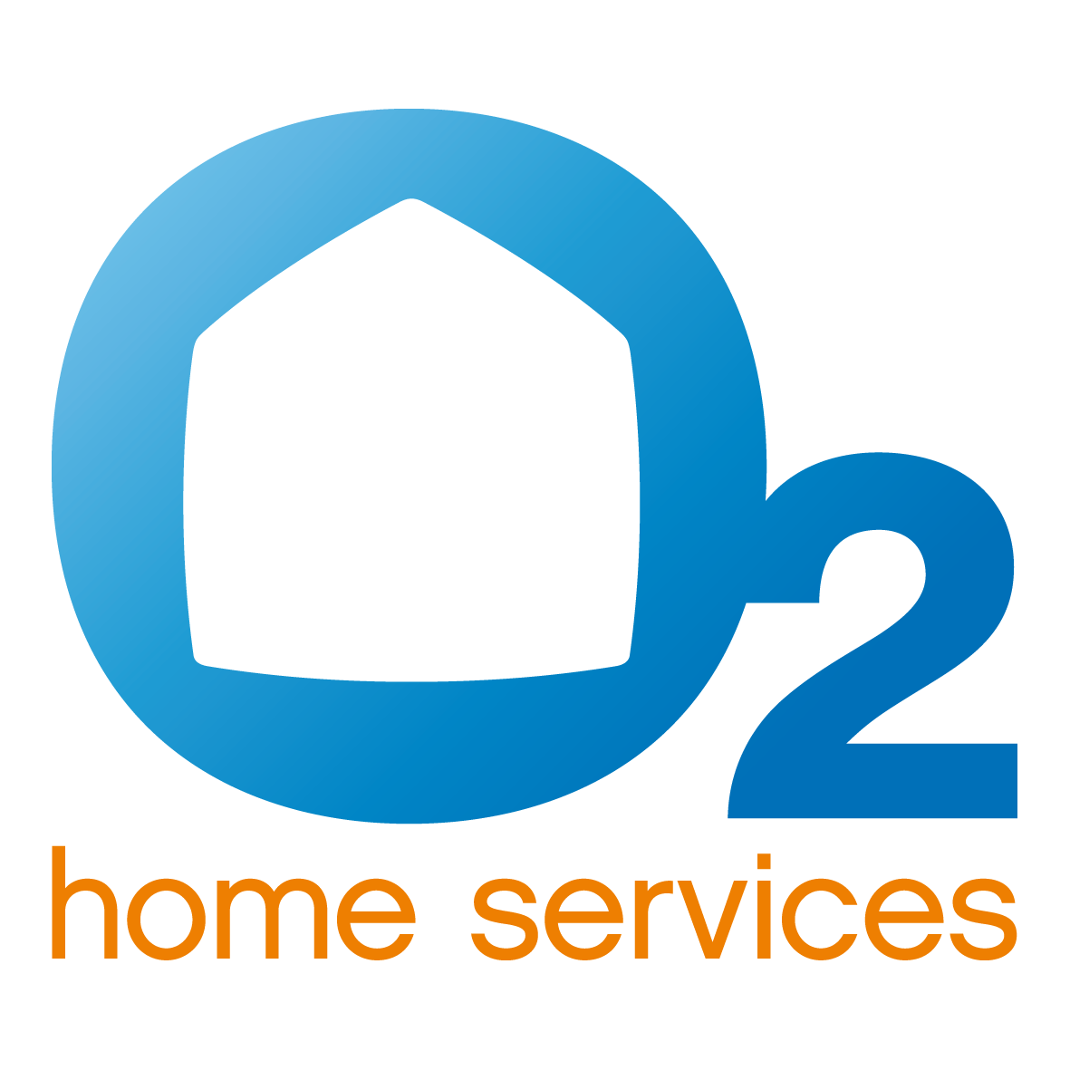 O2 home services logo