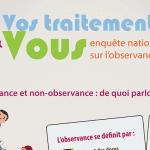 Infographie : Vos traitements et Vous