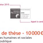 La Fondation Médéric Alzheimer lance un appel à candidatures pour son Prix de thèse 2015