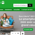 Doro lance son premier site e-commerce