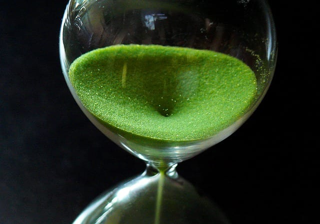 temps, sablier, alzheimer