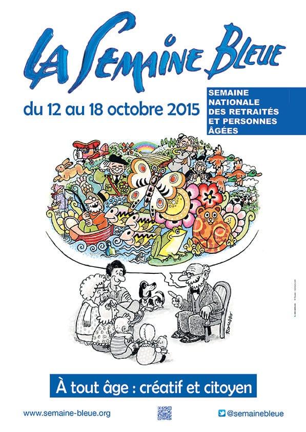 Affiche Semaine Bleue 2015