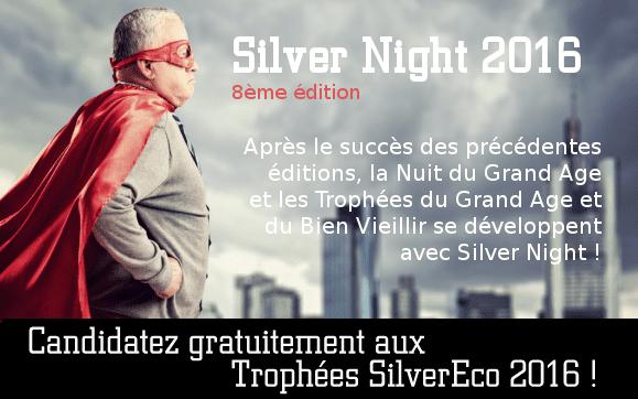 Après le succès des précédentes éditions, la Nuit du Grand Age et les Trophées du Grand Age et du Bien Vieillir se développent avec Silver Night