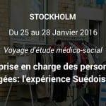 Du 25 au 28 janvier 2016 participez au voyage d'étude : « La prise en charge des personnes âgées: l'expérience Suédoise »