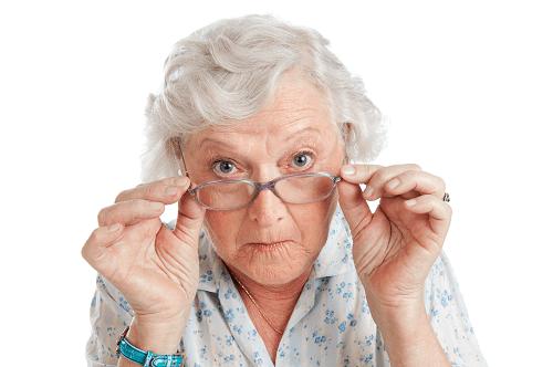 Vue - Malvoyance - lunettes - funky