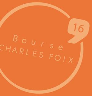 Bourse charles Foix 2016