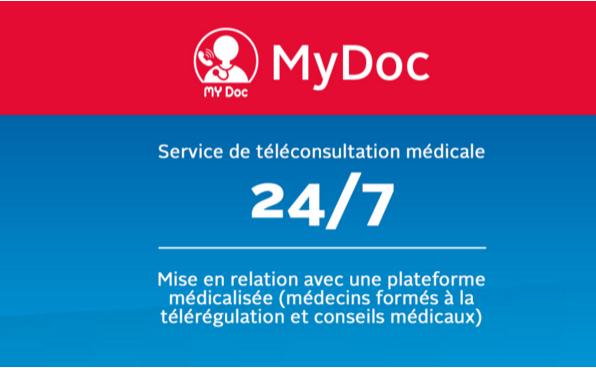 MyDoc - Visiomed e-santé
