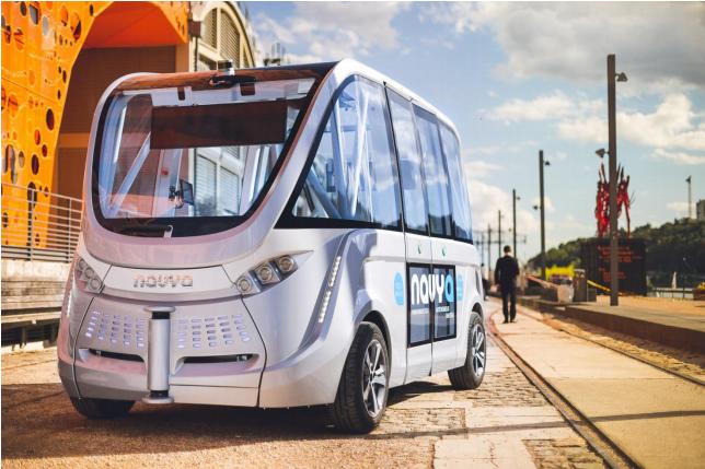 Navya-véhicule autonome électrique