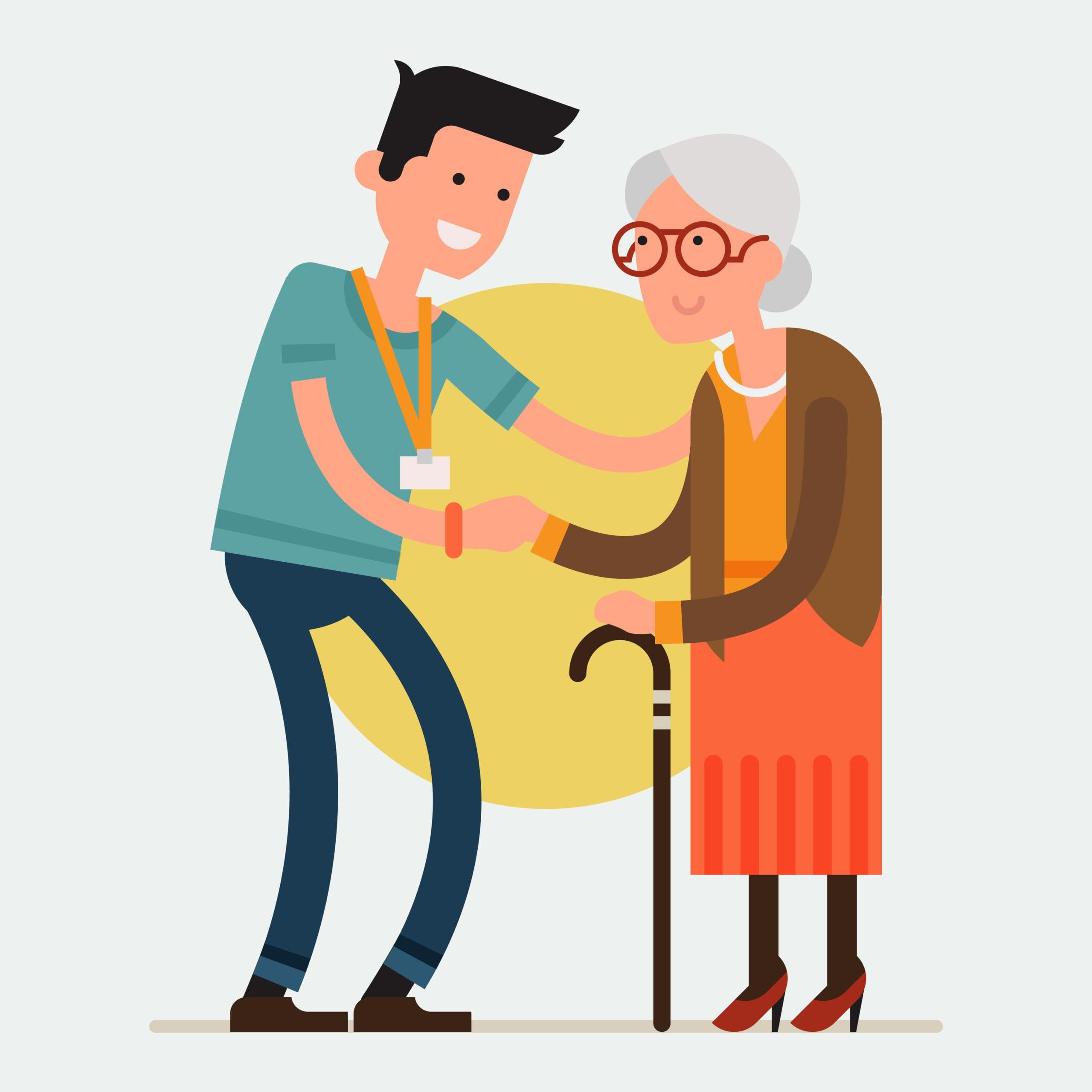 Services à la personne - aide à domicile - shutterstock