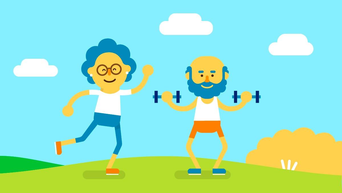 Sport - activité physique des seniors