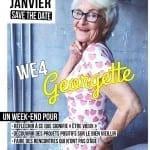 Les 16 et 17 janvier 2016 : 5ème édition du WE4 Georgette, un évènement sur le thème du bien vieillir et de l'intergénérationnel