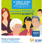 L'OCIRP vous invite au 8ème Débat Autonomie le 21 janvier 2016 !