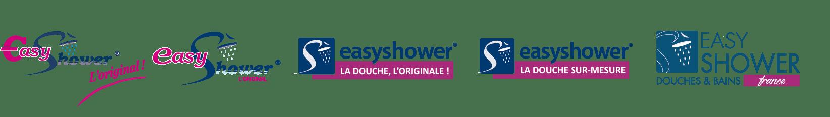 évolution du logo EasyShower