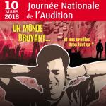 Jeudi 10 mars 2016 : c'est la 19e  Journée Nationale de l'Audition