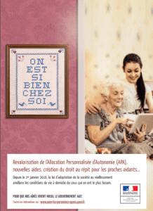 Loi d'adaptation de la société au vieillissement - Affiche- campagne de communication- Silver économie