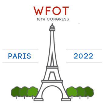 Congres Mondial Ergothérapie 2018 France ANFE