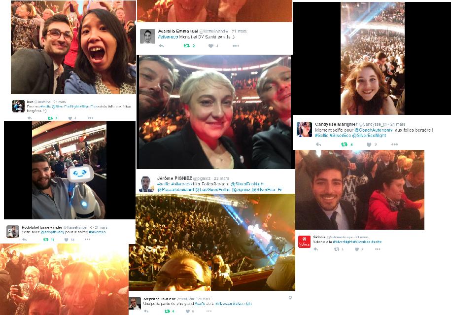Le plus grand Selfie du monde Silver Night Silver économie