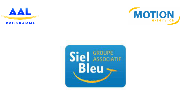 Logo AAL projet Motion Siel Bleu