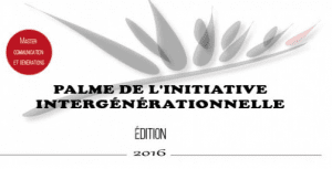 Logo Palme de l'initiative intergénérationnelle 2016