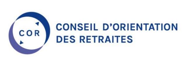 Logo conseil d'orientation des retraites