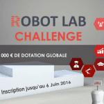 Robotique / Innovation : Le Robot Lab Challenge est lancé !