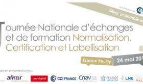 Mardi 24 mai 2016 : Journée Nationale Silver Economie et e-Santé : norme, certification, label