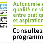 12 et 13 décembre 2016 : 4e édition des Rencontres scientifiques de la CNSA pour l'autonomie à Paris