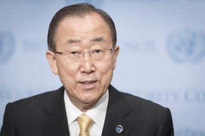 Ban Ki Moon - ONU