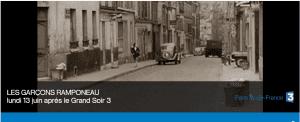 Les garçons ramponeau documentaire France 3