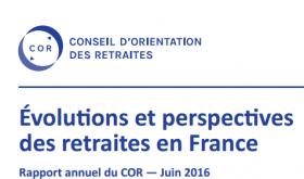 Le Conseil d'Orientation des Retraites publie son rapport annuel