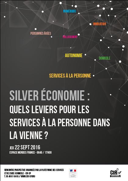 Silver économie , quels leviers de croissance pour les services à la personne dans la Vienne