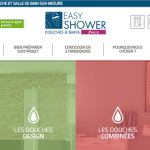 Site internet Easyshower