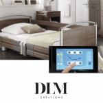 Nouveauté lit connecté Smart Care Control DLM Création