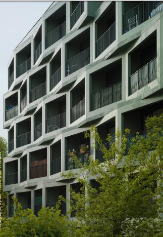 Résidence du lac écoquartier docks de ris
