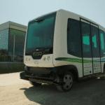Easymile teste ses navettes autonomes dans les rues d'Helsinki