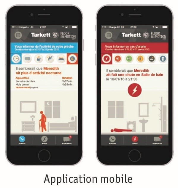 Application mobile FloorInMotion