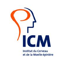 Logo ICM institut du cerveau et de la moëlle épinière maladies cérébrales
