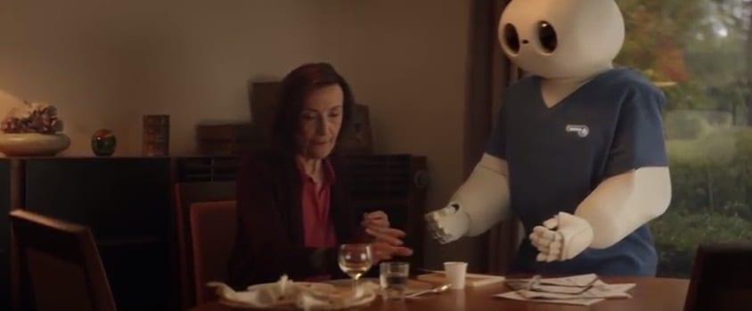 Vidéo de sensibilisation sur la robotique et l'isolement des personnes âgées