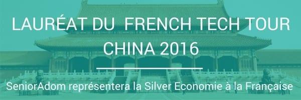 Senioradom lauréat du french tech tour China