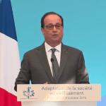 Semaine bleue, Bien-Vieillir : Allocution de François Hollande à l'Elysée