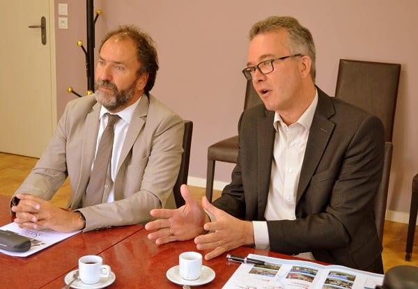 Laurent Guillet et Jean Luc Gehere d'Espace & Vie