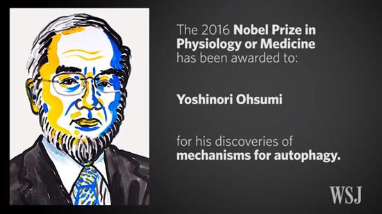 Prix Nobel de Physiologie/ médecine