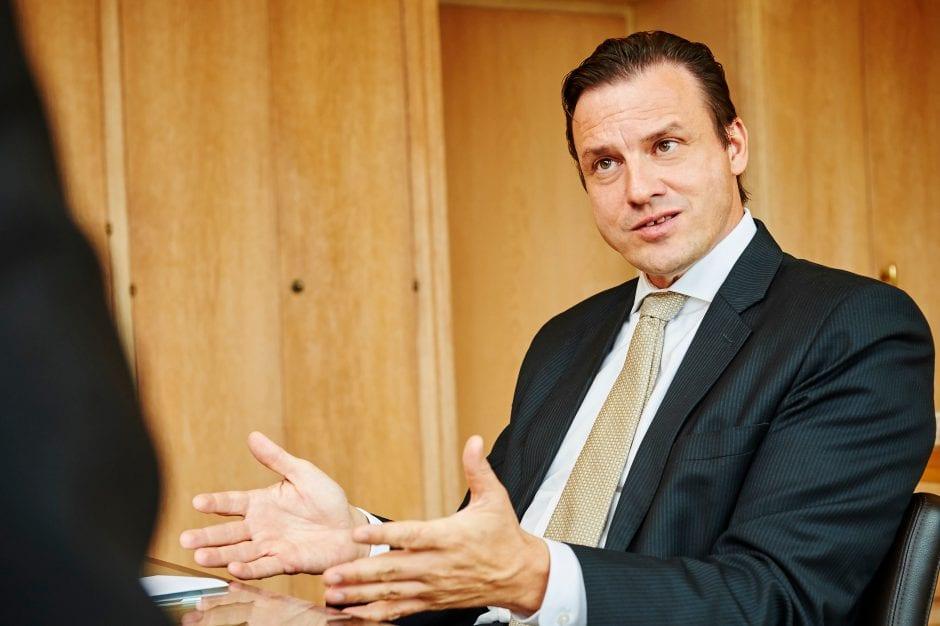 Patrick Frost CEO de Swiss Life
